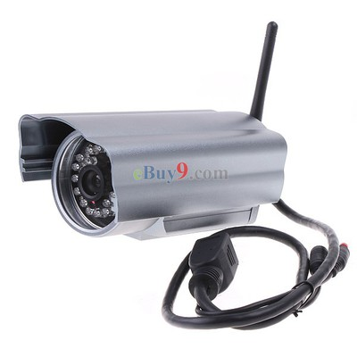 Wireless WiFi Outdoor Security IP Camera Night Vision LED-As picture