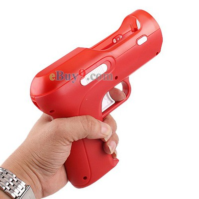Shooting GUN F Motion Controls PS3 Move Game Red-As picture