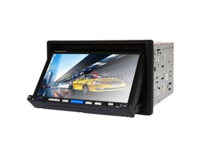 "HJ7007S 7"" LCD Touch Screen 2 Din Car DVD Media Player with DVB-T/ATSC 3D Interface Control USB Bluetooth SD Card FM TV EMS Shipping-As picture"