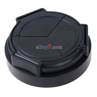 Black Portable Automatic Lens Cap for Samsung EX1-As picture