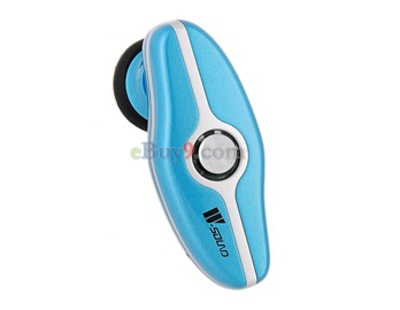E100 Wireless Bluetooth Headset (Blue)-As picture