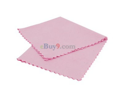 Portable Cleaning Cloth for Camera Lens (Pink)-As picture