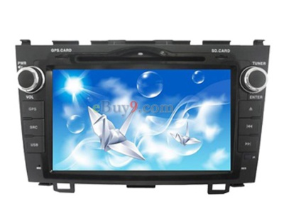 8&quot; Car DVD Player For Honda CRV with GPS IPOD DVB-T Bluetooth RDS AVIN EMS Shipping-As picture