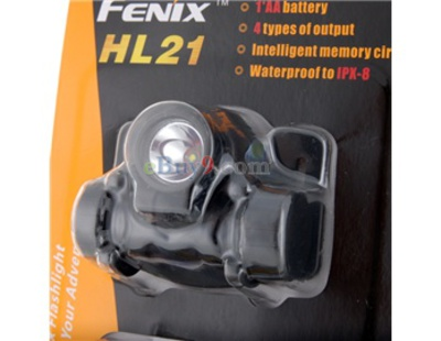 FENIX HL21Cree XP-E R4 4-Mode Warm White LED Head Light (Black)}-As picture