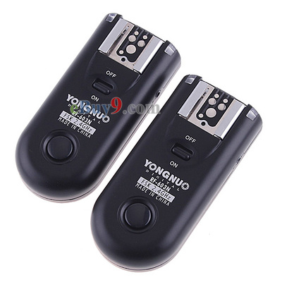YONGNUO RF-603N Wireless Remote Flash Trigger Transceiver for Nikon-As picture