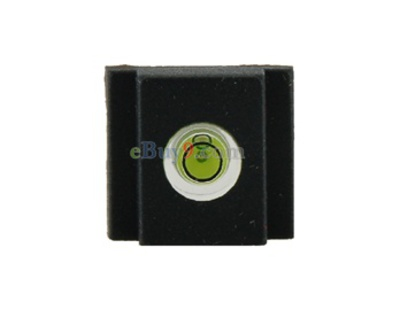 Hot Shoe Bubble Spirit Level Gradienter Cover Cap SLR (Black)-As picture