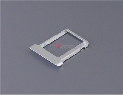 Apple iPad 2 Repair and Replacement Micro SIM Card Tray Slot Holder (Silver)}-As picture