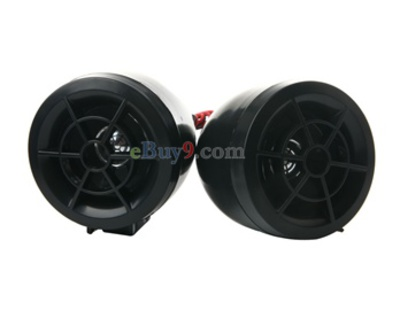 Speaker for Motorcycles-3.0inches (Black)-As picture