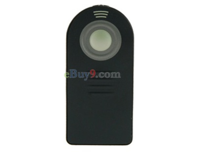Wireless Remote Control for Canon 60D 550D 500D 5DII 7D 450D Digital SLR Cameras (Black)-As picture
