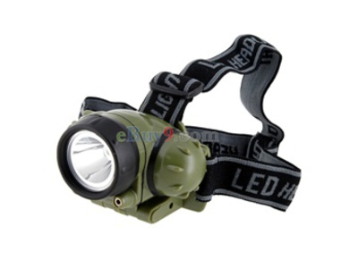CREE Q5 LED 210LM 3Modes  White Light HeadLamp (Black)-As picture