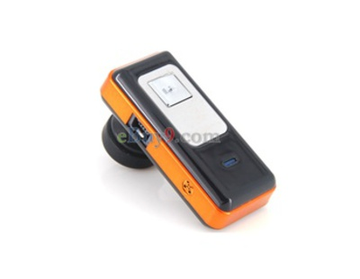 Stereo Bluetooth Headset HBH-D8 (Orange)-As picture