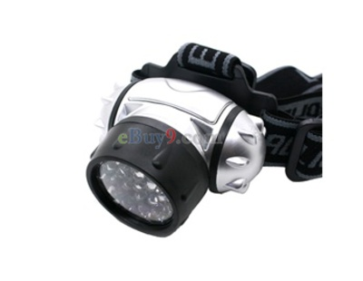 Super Bright 28LED Head Light (Silber)-wie Bild