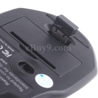 2.4G 2.4GHz Optical Gaming Wireless Mouse 1000/1600/2000DPI-As picture