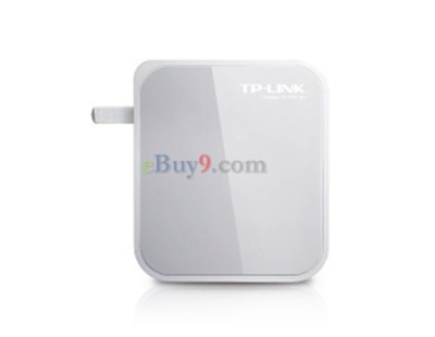 Mini Portable TP-Link TL-WR710N 150 Mbps Wi-Fi Wireless Router (Grey)-As picture