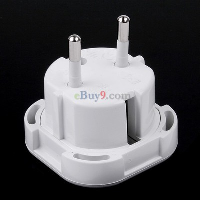 UK to EU AC Power Travel Plug Adapter Socket Converter 10A/16A 240V-As picture