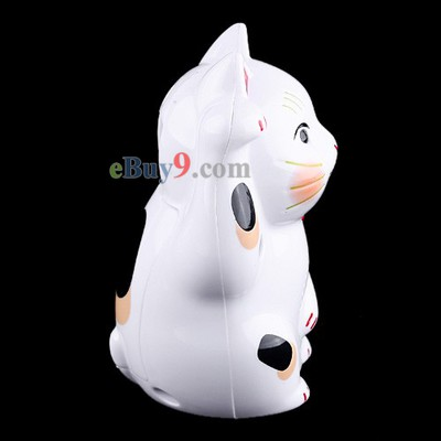 Lucky Cat IR Sensor Auto Welcome Device English 3-Meter Range-As picture