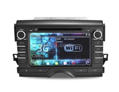 "8"" 2 Din Car PC DVD Player for TOYOTA KEIZ with WIFI 3G Analog TV GPS IPOD Bluetooth AVIN RDS EMS Shipping-As picture"