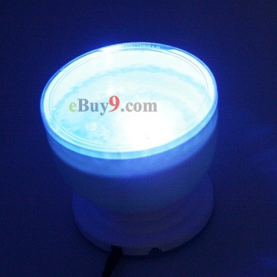 Amazing Daren Waves Night Light Projector Speaker Lamp-As picture