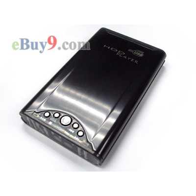 2.5inch MP4 MP3 DVD Multimedia AV Portable USB 2.0 HDD (Harddisk) Player-As picture