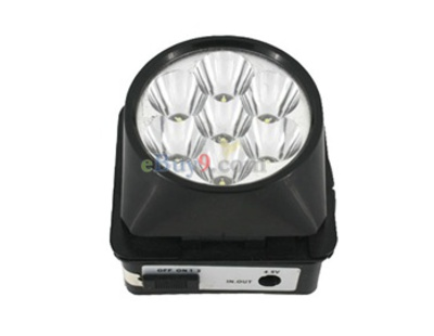 6V 7LED Head Light Head Lamp-As picture