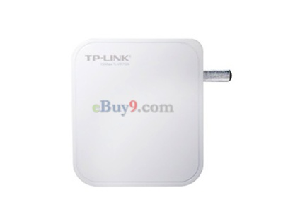 Mini Portable TP-Link TL-WR700N 150 Mbps Wi-Fi Wireless Router (Grey)-As picture