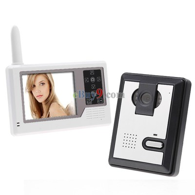3.5 TFT Wireless Video Intercom Doorbell Door Phone Intercom System-As picture