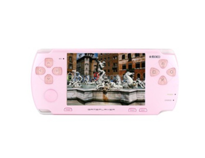 JXD JXD300 4GB 3.0&quot; MP5 Portable Media Player (Pink)}-As picture