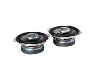 "Pair of SS1402 40 Watts 4"" Car Coaxial Speakers (Black)-As picture"