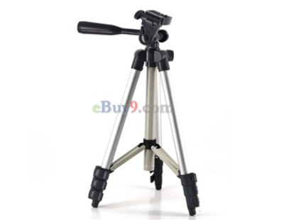 WT-3110A 1.02M Maximum Height Tripod (Silver)-As picture