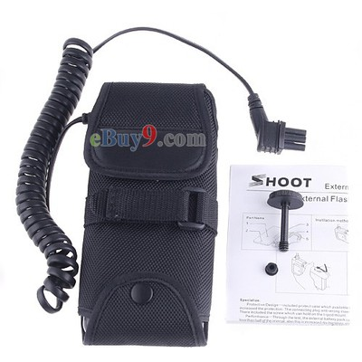 SD-9A 6 AA External Flash Battery Pack for Nikon SB-900 SB900-As picture