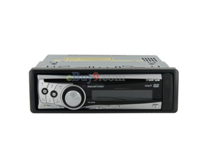 DEH-50UB Multi DVDCD VCD Video Player with FM/WM Receiver USB Rear Aux Slots Quick Browser (Silver)-As picture