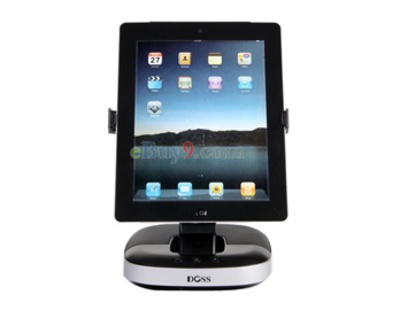 3 in 1 Multi-functional Speaker for iPhone/iPad 1/iPad 2/iPod Touch (Black)-As picture