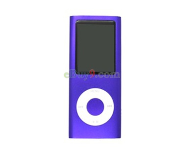 1GB 1.8&quot; MP4 Player Multimedia Player (Purple)}-As picture
