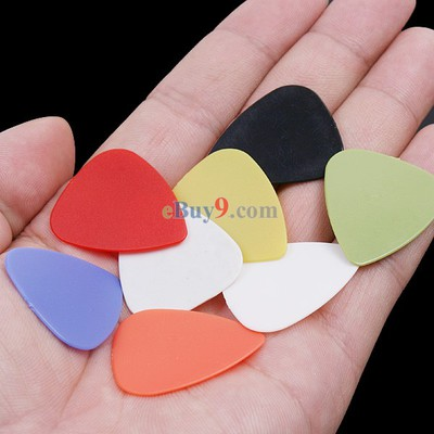 8Pcs Stylish Colorful Guitar Picks Plectrums 0.76mm-As picture