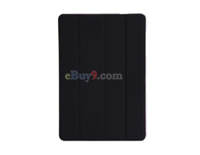 Protective Faux Leather Case with Kickstand for Samsung P7510 Galaxy Tab (Black)-As picture