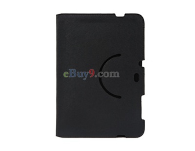 Ultrathin Leather Protective Case for Samsung 7500 Tablet PC (Black)-As picture