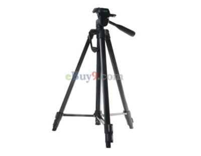 Digital Camera and Camcorder Flexible Tripod with Carrying Bag (Black)-As picture