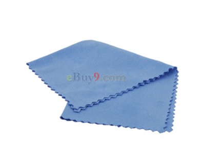 Portable Cleaning Cloth for Camera Lens (Blue)-As picture