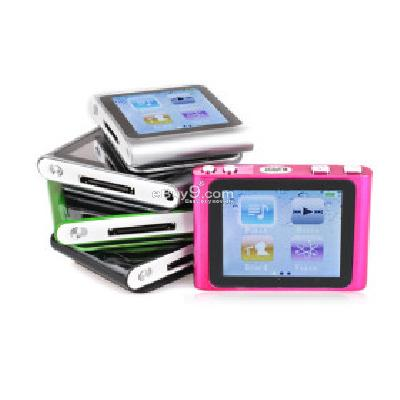8GB MusicTube MP3 Player With FM Voice Recording - 5 Colors Available 8MP162477-Multi Color