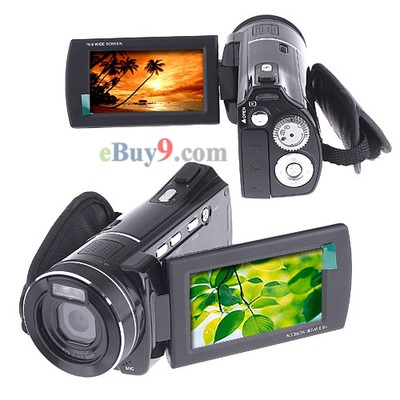 HD 1080P Digital Camcorder / Camera / Voice Recorder-As picture