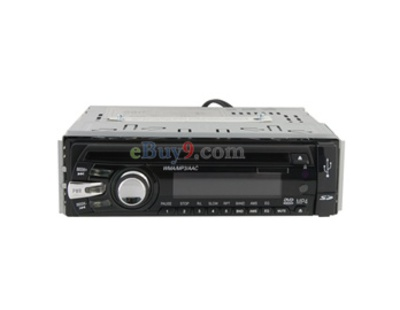 HFK-7318 DA-731 PAL/NTSC Anti-shock System Car DVD Player (Black)-As picture