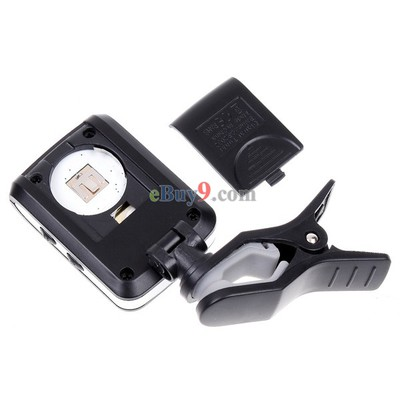 LCD Clip-on Electronic Digital Guitar Chromatic Bass Violin Ukulele Tuner   -As picture