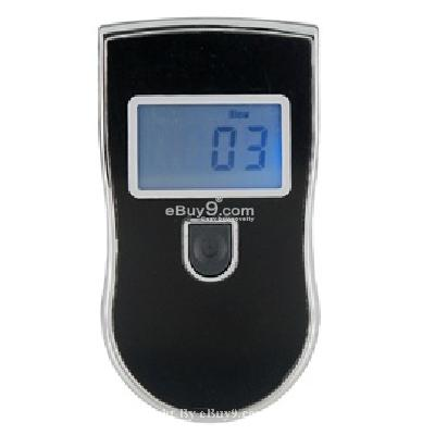 professional digital breath alcohol tester (black) abt340b-Black