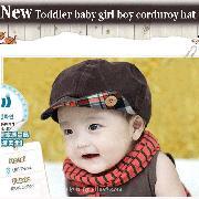 /coffee-toddler-baby-girl-boy-corduroy-hat-cap-bhraa-p-242.html