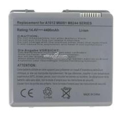 Apple PowerBook M8244 14.4V 4400mAh Replacement Battery B094X-As picture