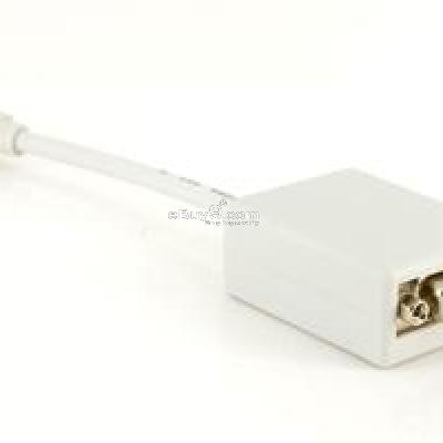Mini DisplayPort DP to VGA Adapter for MacBook Pro Air (White) B120W-As picture