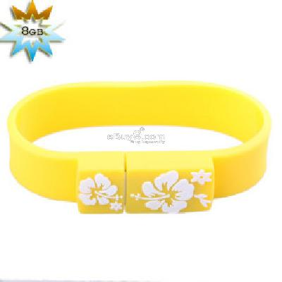 Sporty Wristband USB 2.0 Flash Jump Drive (8GB) B087675-As picture