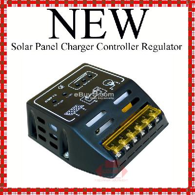 10A Solar Panel Charger Controller Regulator CMP12w-