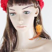 /sexy-vintage-orange-long-dangle-feather-earring-csehw-p-248.html