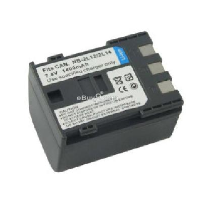 Replacement Camcorder Battery NB2L12 for CANON Elura 90 MVX45i Optura 60 ZR700 CB167011-As picture